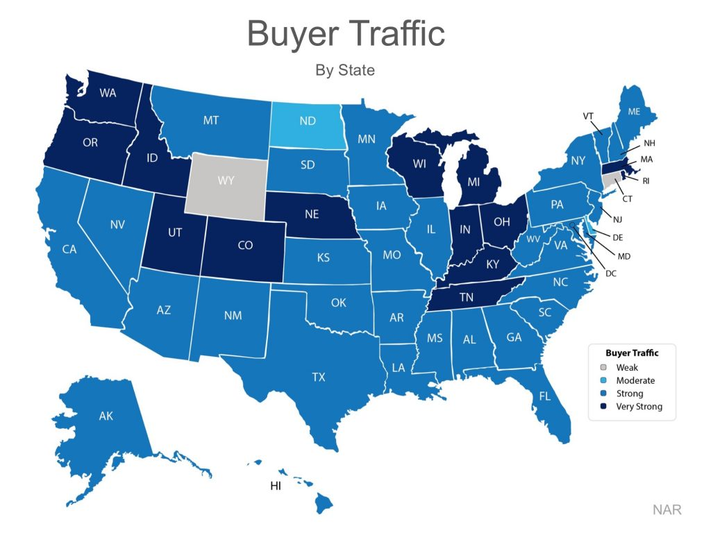 Strong Buyer Traffic!